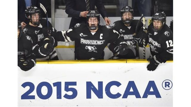 Friars one win away from Frozen Four