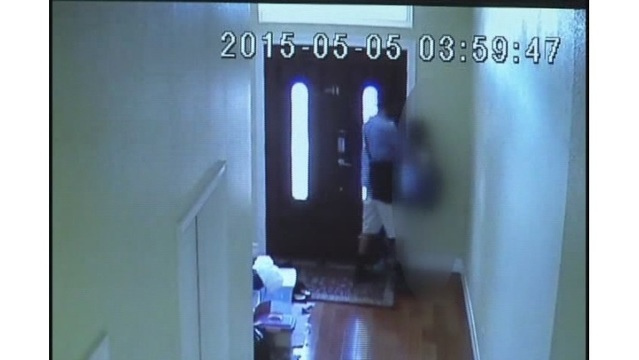 Video shows man attacking pre-teen in her house