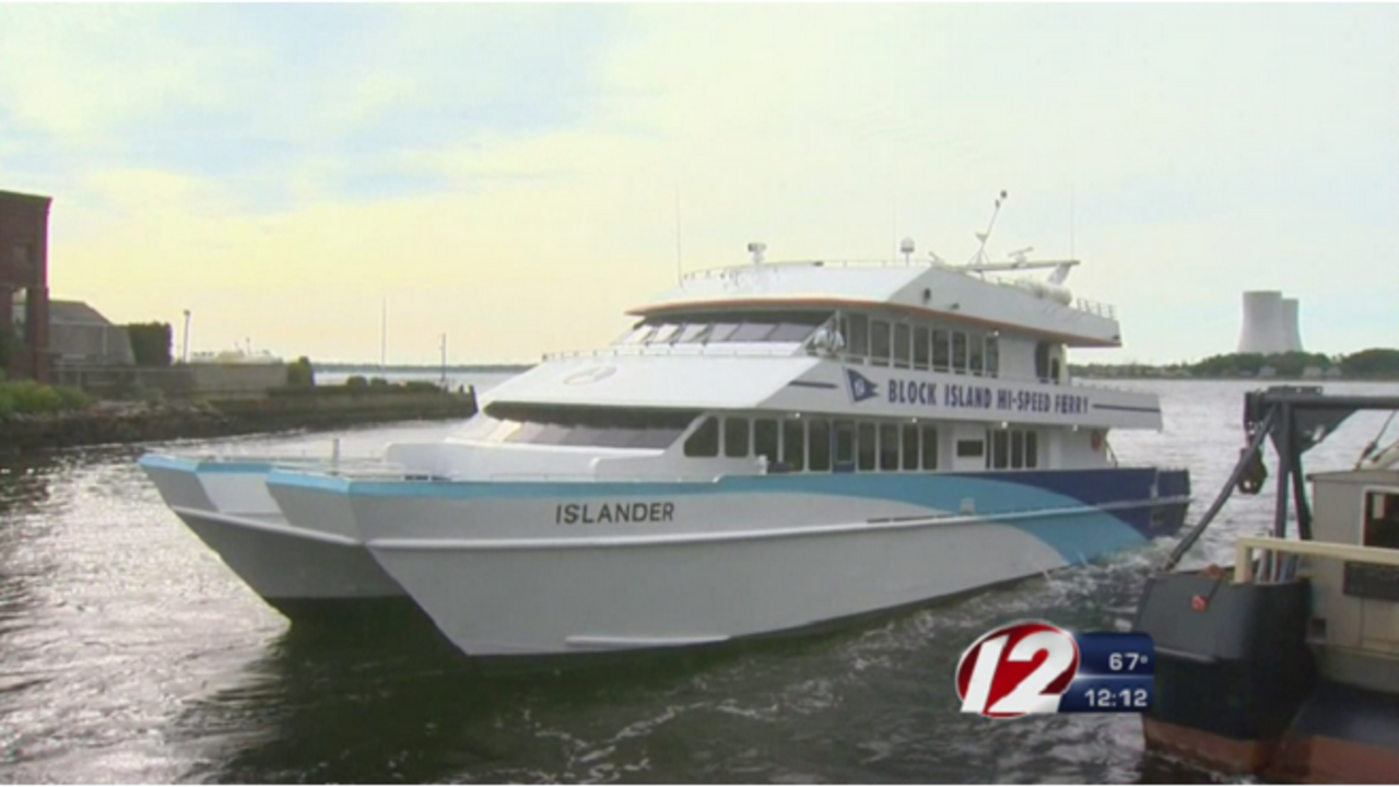 block island ferry cancels high-speed ferries wednesday