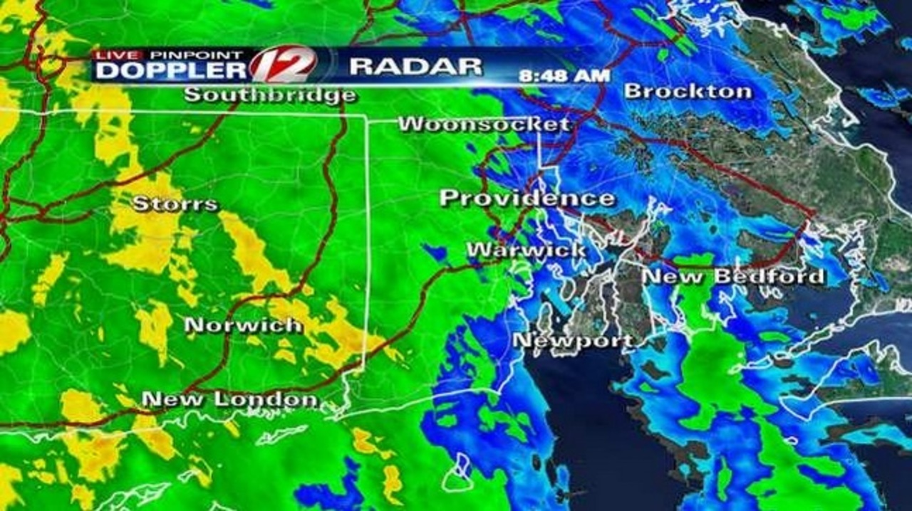 Heavy downpours, street flooding expected throughout the day