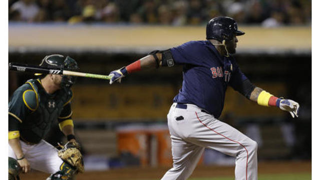 Red Sox come up big in 16-2 win over Oakland