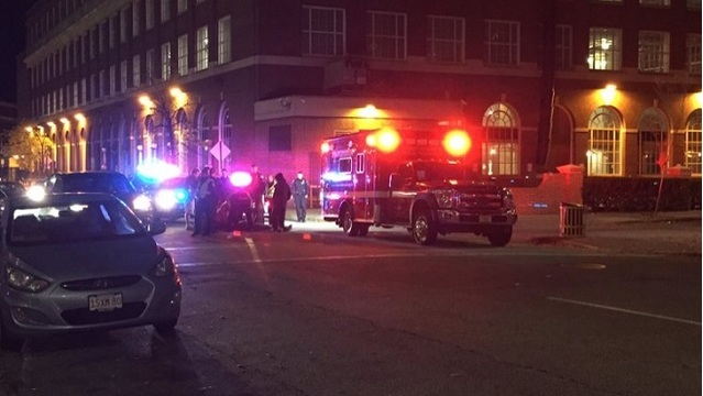 Pedestrian reportedly struck by car in downtown Providence
