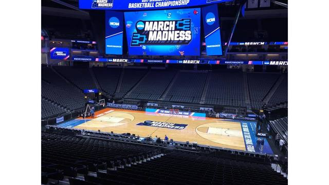 URI Rams in Sacramento for NCAA Tournament_444307