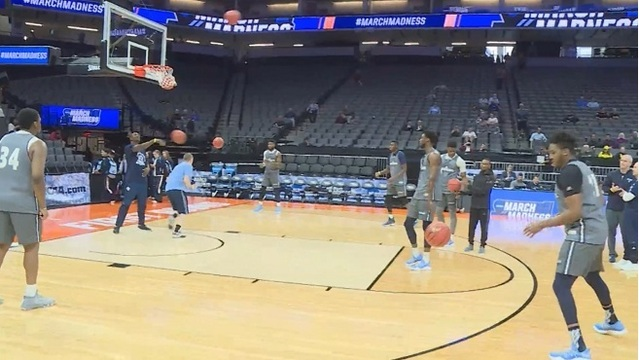 URI Rams in Sacramento for NCAA Tournament_444323