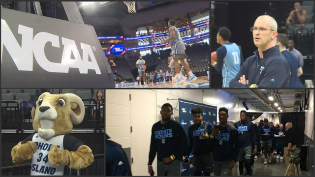 Photos: Rhody Rams in the Big Dance