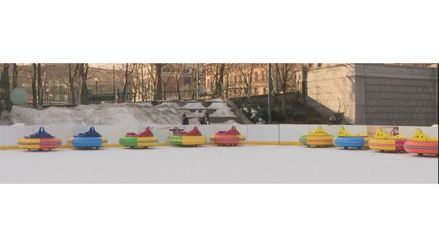 A New Twist On The Ice Bumper Cars To Hit Providence Downcity Rink