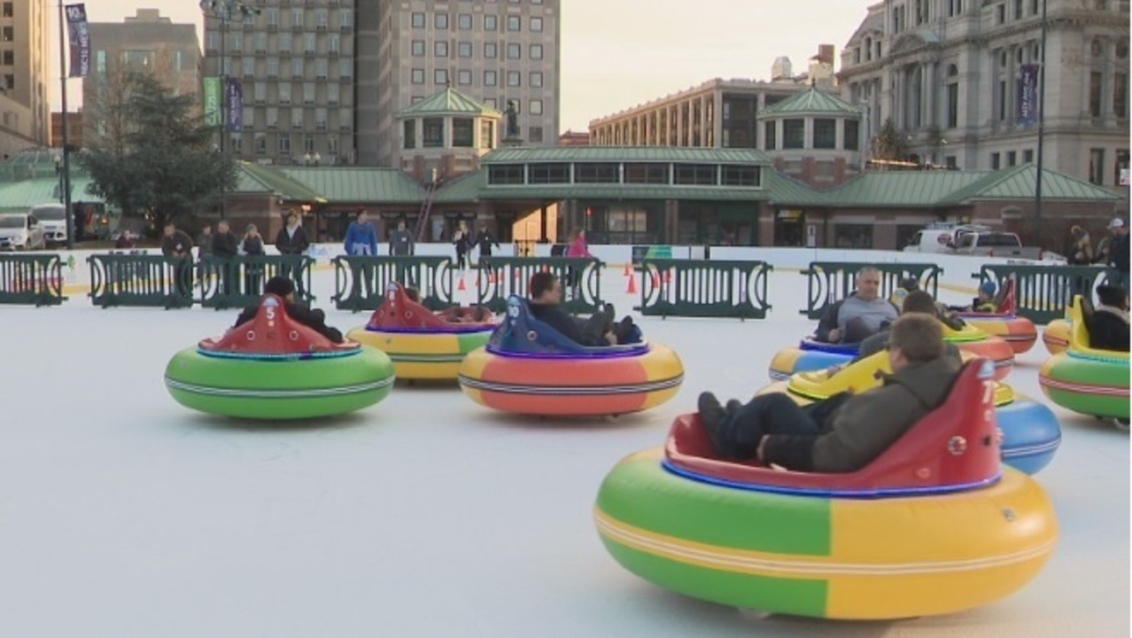 Providence S Bumper Cars On Ice Bring In Cool Cash