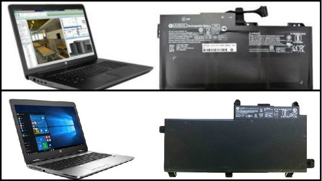 HP recalls battery packs due to burn, fire hazards