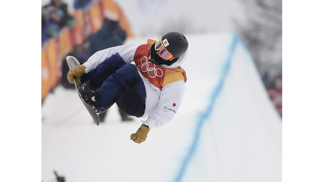 The Latest: American Shaun White wins halfpipe Olympic gold