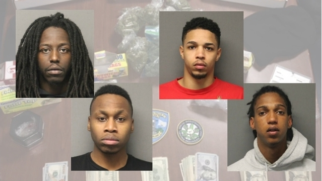 Police arrest 3 men in Central Falls drug bust, searching for 4th suspect