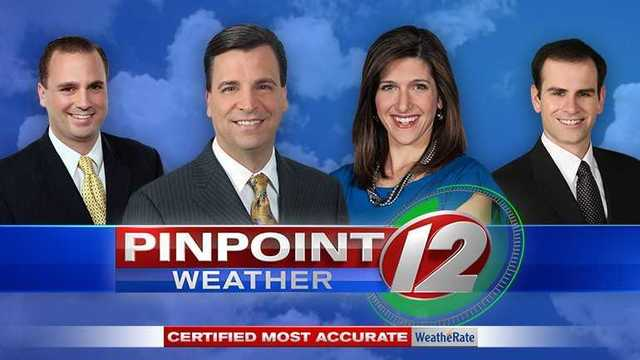 WeatheRate names Pinpoint Weather 12 'Most Accurate'