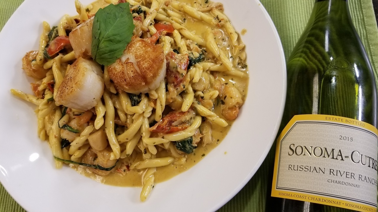 In the Kitchen: Twin Oaks Seafood Pasta