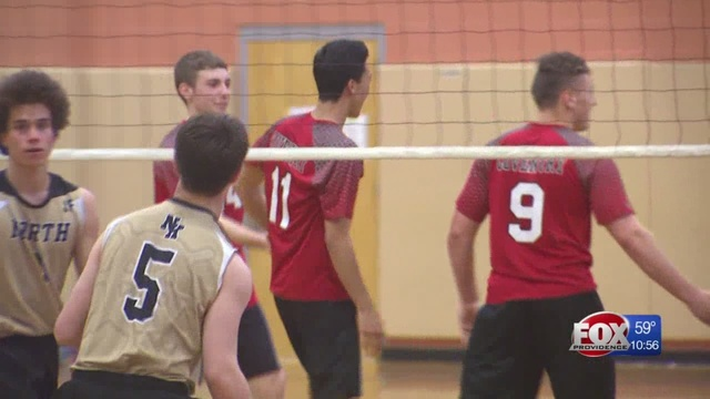 Coventry Sweeps North Kingstown In Boys Volleyball 3 0