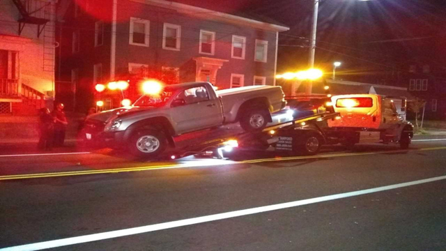 Driver charged after pedestrian struck in Providence