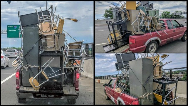 Massachusetts State Police stop overloaded truck on I-91 | WPRI