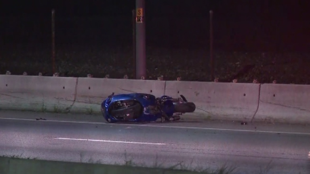 Motorcyclist killed in crash on I-95 in Pawtucket