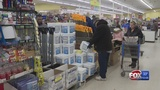 New Englanders stock up on supplies ahead of Sunday's storm