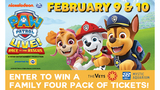 Win Tickets to Paw Patrol Live at the VETS