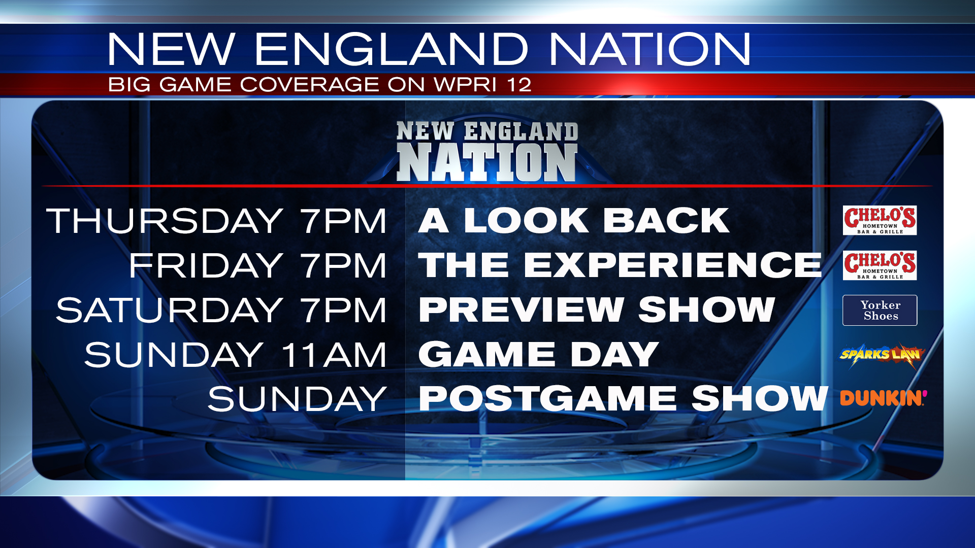 New England Nation Big Game Coverage & Shows