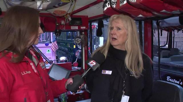 Interview: Duck Boat Driver in Patriots Parade