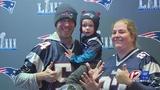 Fans get up close and personal with Lombardi Trophy