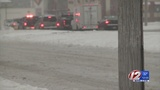 On-and-off light snow this afternoon&#x3b; threat of black ice tonight