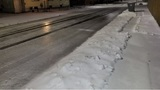 Icy roads affect morning commute