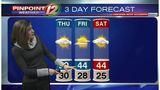 WEATHER NOW: Icy Roads This Morning, Drier and Milder This Afternoon