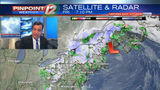 WEATHER NOW: Rain Showers, Then Snow Showers Overnight