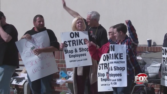 Stop & Shop workers strike for a third day