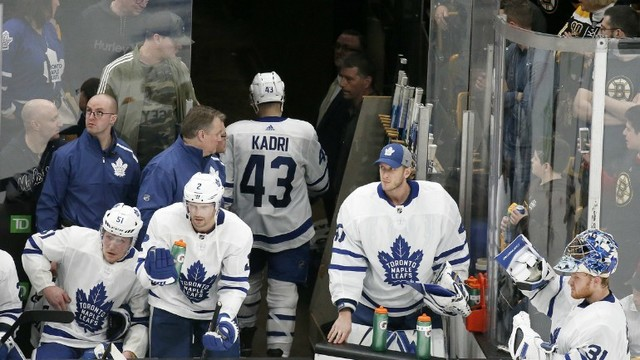 NHL suspends Leafs' Kadri for rest of first round vs Bruins