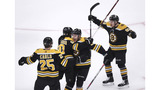Early goals help Bruins beat Maple Leafs 5-1 in Game 7
