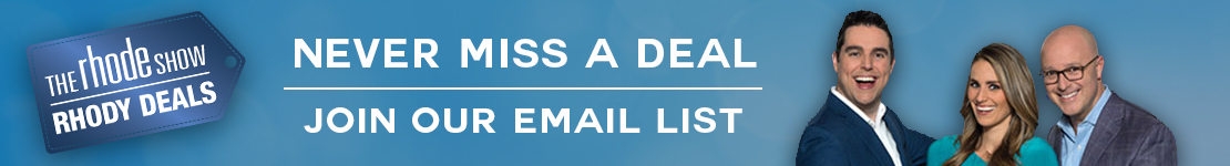 Never miss a Rhody Deal! Enter your email to get deals straight to your inbox!