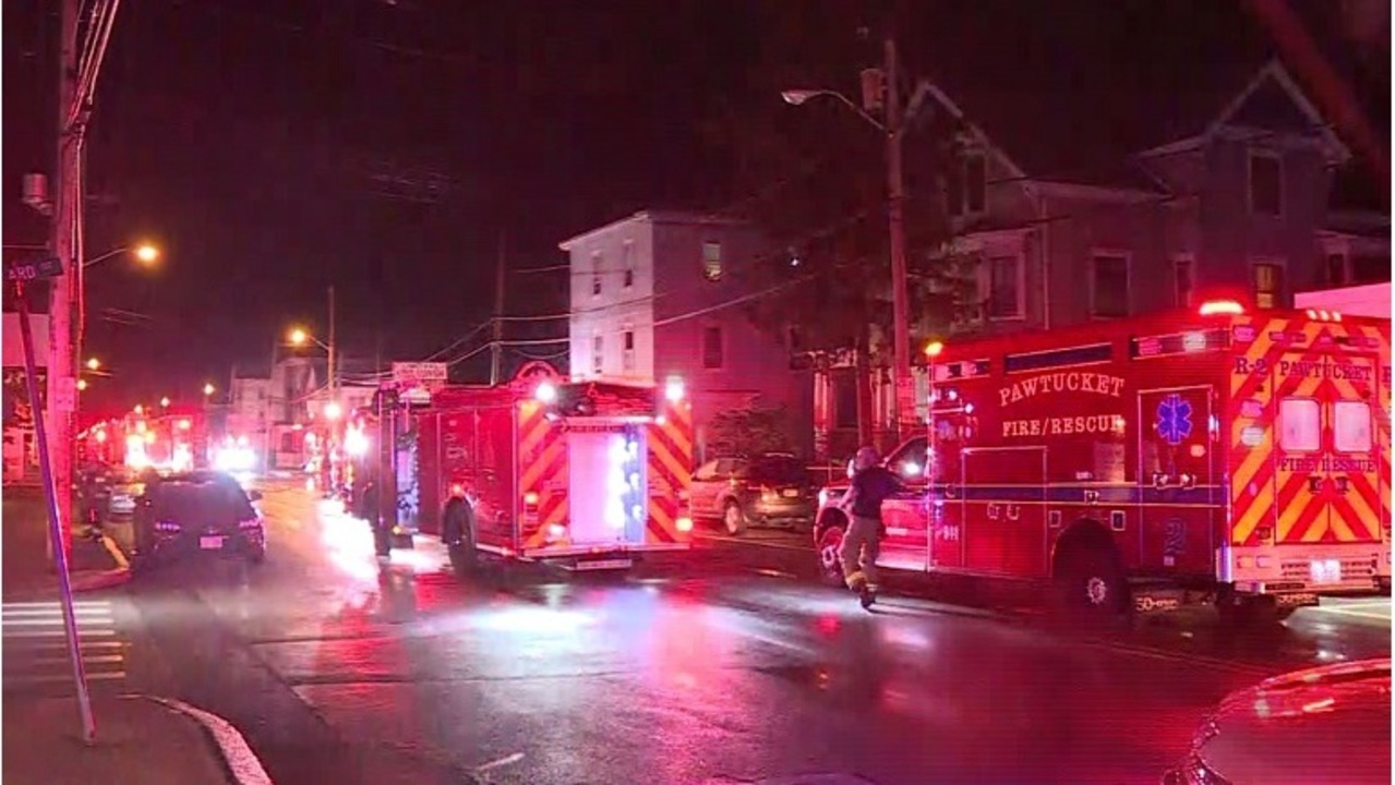 Pawtucket firefighter hurt rescuing resident from overnight fire