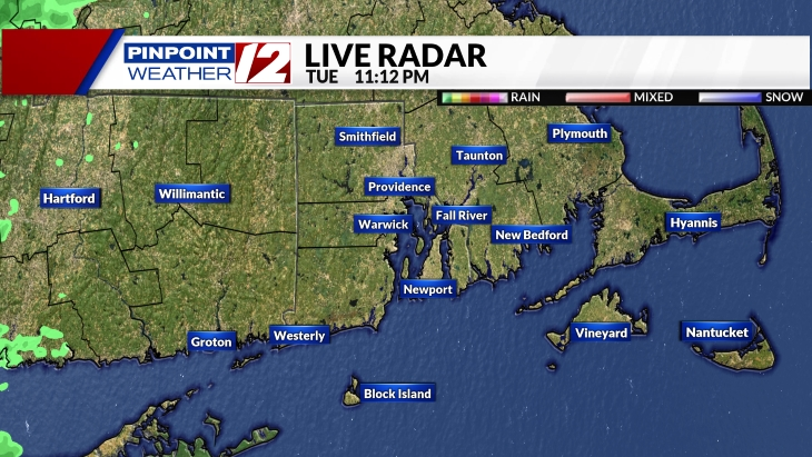Live Pinpoint Doppler 12 Radar
